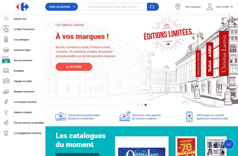 Carrefour.fr location de voiture
